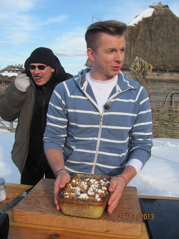 Zapiekanka z jagnięciną i serem carskim smakowała wszystkim wyśmienicie.